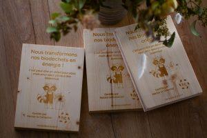 Plaque bois nous transformons vos biodéchets en énergie