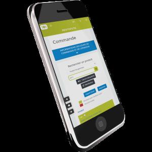 Application mobile de Restofuté